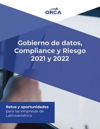 Recursos Gobierno de datos, Compliance, Riesgos